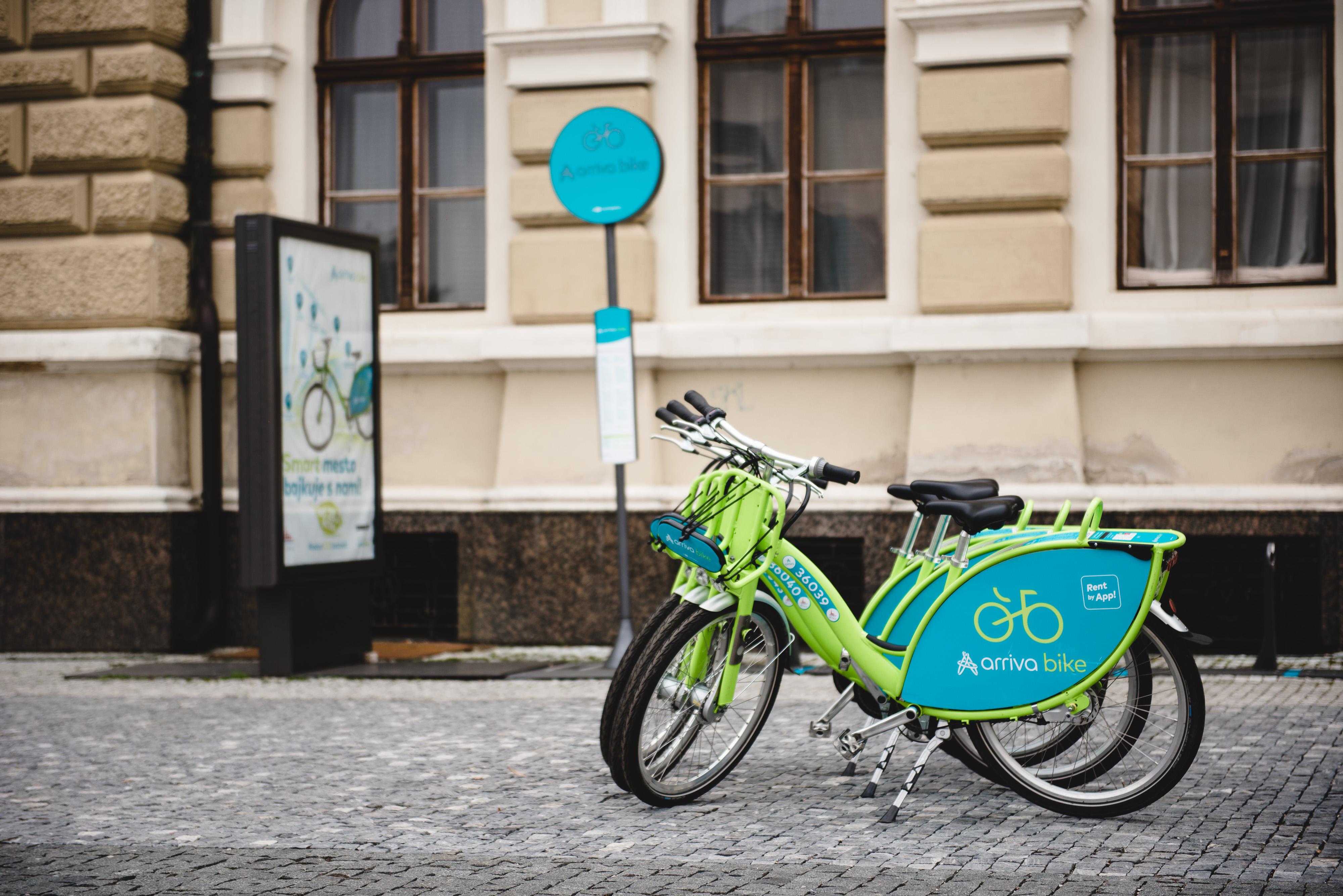 Zdieľané bicykle arriva bike môžu Nitrania - Kam v meste  cd9dd7a947d