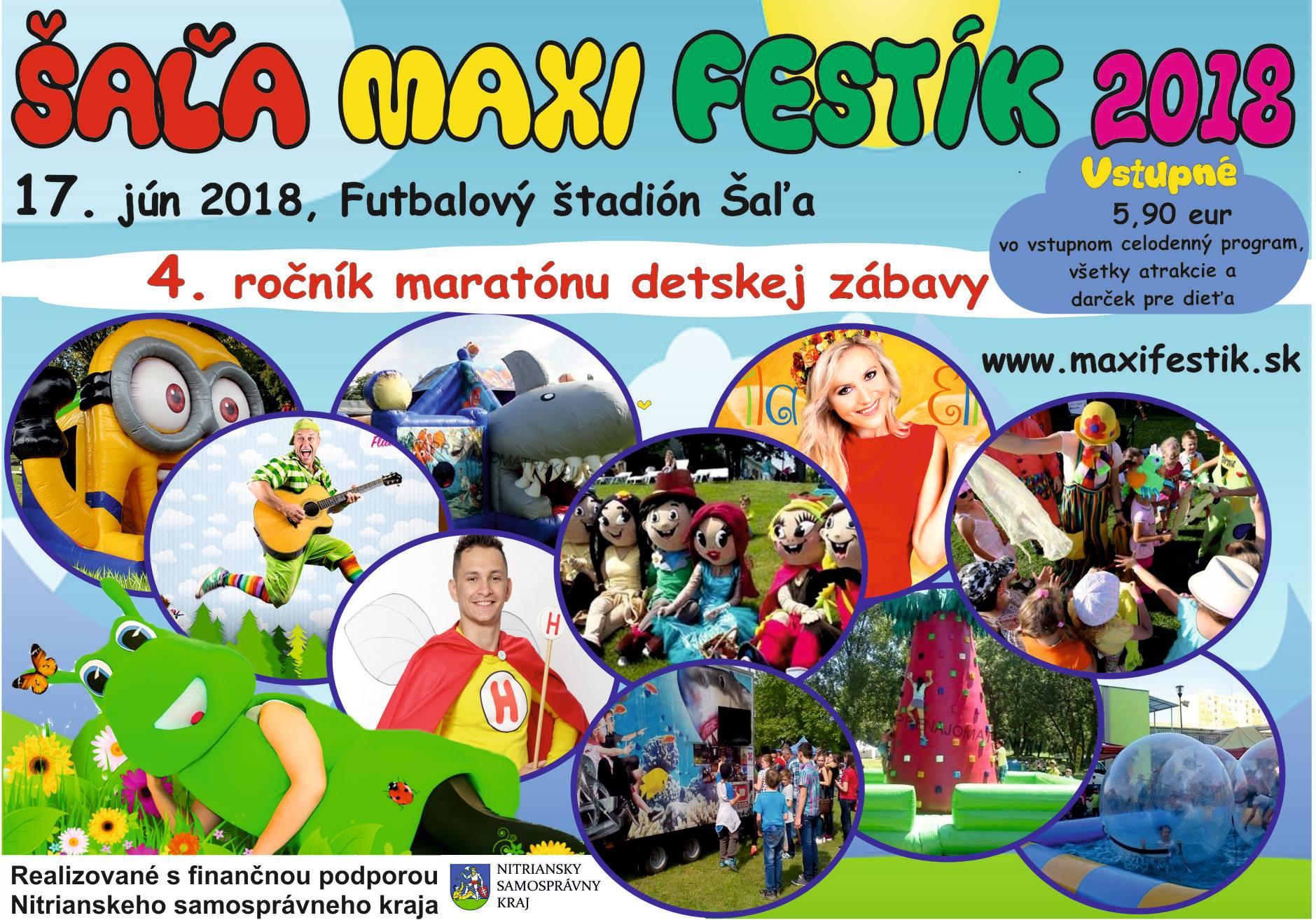 V Šali sa bude konať celodenný maratón dets - Kam v meste  aa653d7a545